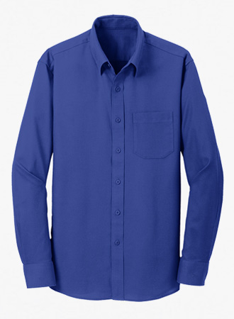 Men's Non Iron Diamond Dobby Shirt
