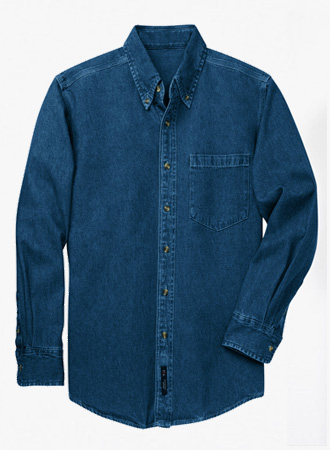 Heavyweight Stonewash Denim Shirt