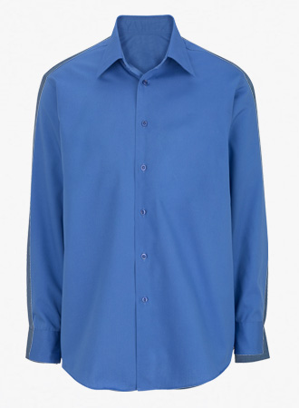 Stretch broadcloth dress shirt