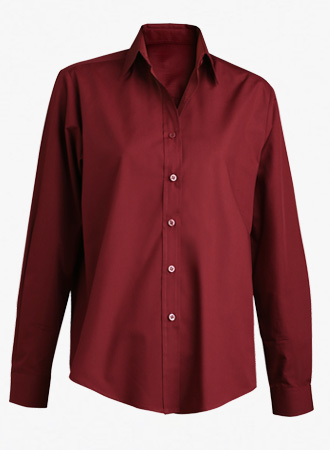 Women's performance broadcloth dress shirt