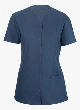 Women's Snap Front Housekeeper Tunic