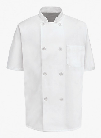 1/2 Sleeve Chef Coat