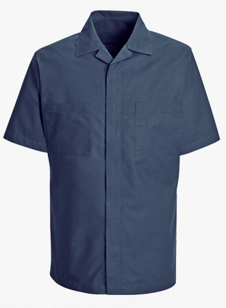 Men's Zip Front Shirt