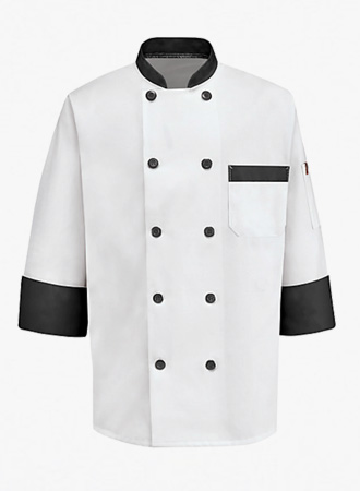 Garnish Trim Chef Coat